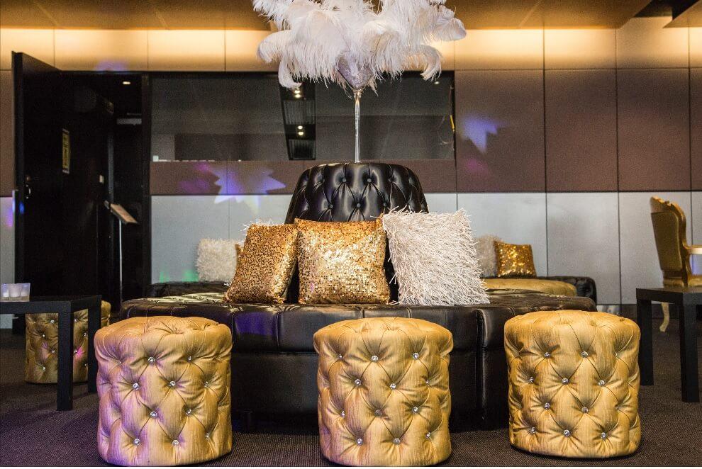 Masquerade Lobby Lounge Setting