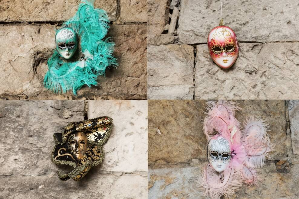 Masquerade Themed Masks