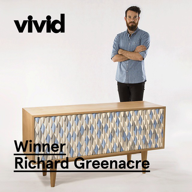 Vivid winner Richard Greenacre