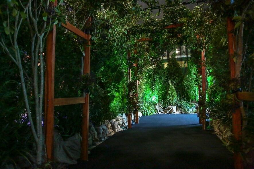 Forest Archway Installation