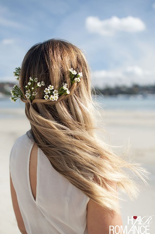 Hair-Romance-Bridal-hair-styles-beach-flowers-chic