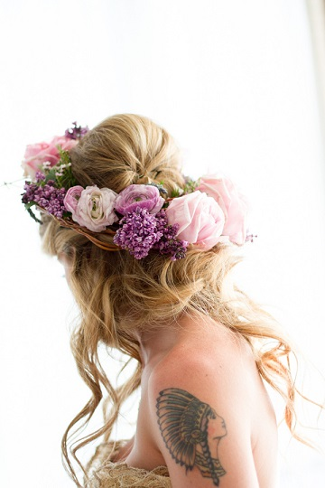 elegantweddinginvites-bridal-hair-styles-hair-flowercrown