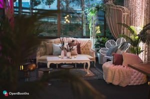 Boho chic styled event