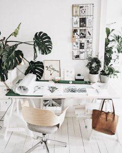 white work home wood