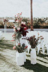 wedding aisle backdrop