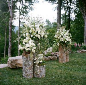 forest woods outdoor wedding